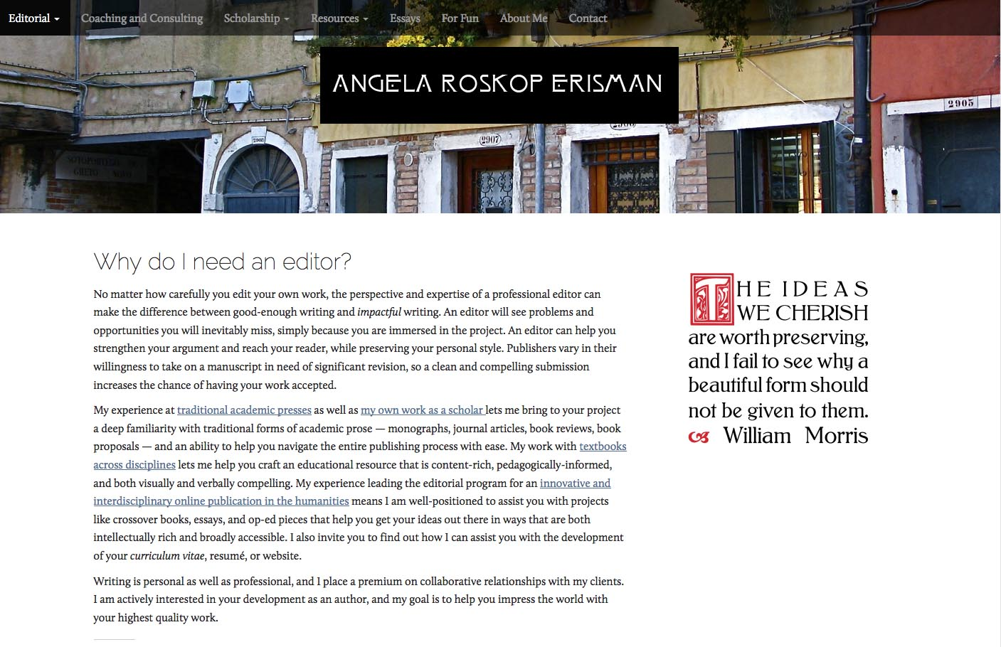 angela roskop erisman editorial angela roskop erisman are editorial website